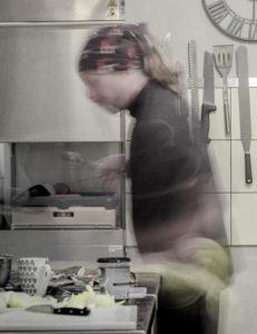 Notre cuisiner en action